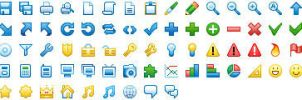 16x16 Free Toolbar Icons by Ikonod
