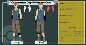 Ethan Baxter- Celebration Cup Reference Card by OwlArtist