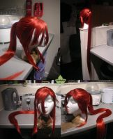 Wig Commission - Yoko by kyos-girl