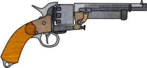 LeMat Revolver by TheFrozenWaffle