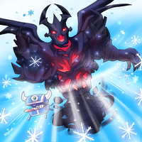 Christmas Event picture 2 - Snowflakes from hell by keterok