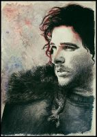 Jon Snow by SallyGipsyPunk