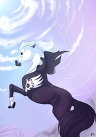 .:Aceo:. Reach for the sky by LuneTheTiger