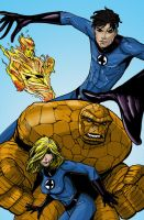 Fantastic Four by shubcthulhu