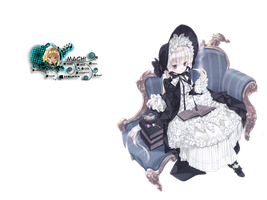 Victorique from GOSICK Render by MachiKonjo