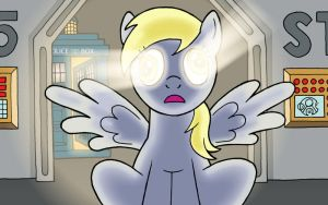I Derped into the Heart of the Tardis by JohnRaptor