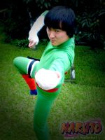Naruto Cosplay: Punch! by SawaKun