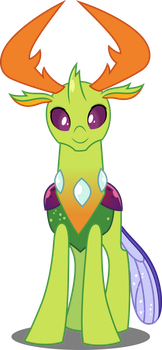 Vector #683 - King Thorax by DashieSparkle