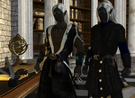 The Drow Twins :: Honglath and Veldrin by DrowElfMorwen