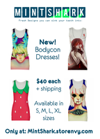 New dress releases! by Little-Miss-Boxie
