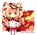 Red Thorn alice Adoptable Closed by Maruuki