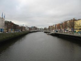 The Liffey by Wolfsjal
