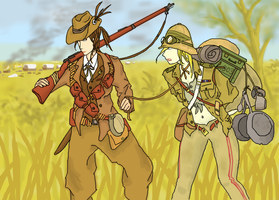 The Boer and the Briton by ColorCopyCenter