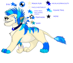 Character Trade: AquaLioness by fuzzlekitty