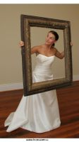 Bride in a Frame.2 by Della-Stock