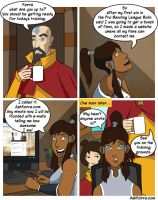 Ask Korra by Pugthug