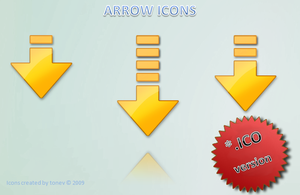 Arrow icons .ico by tonev