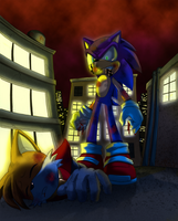 Revenge on Robotnik's Son by Lord-Kiyo