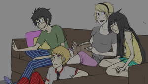 slumber party by ToTheInfinity