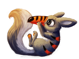 Painted Chibi Commission - Floopey by Bowtiefoxin