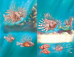 Lionfish by albertoguerra