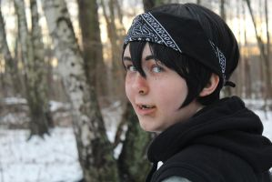 Casey Jones in the Woods Cosplay by BroFist-InTheFACE