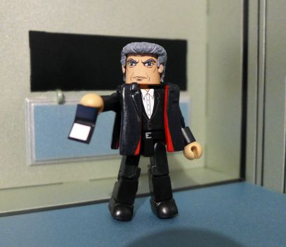 12th Doctor Peter Capaldi Custom Minimate by luke314pi