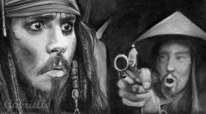 Captain Jack Sparrow by gabbyd70