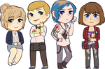 Life is Strange Stickers by Cicre