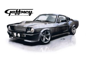 Colored Pencil GT500 by theGaffney