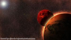 Planets Collision by cjlou-the-bejeweler