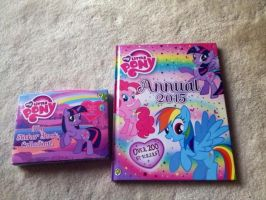 MLP Stickers Collection Book by extraphotos
