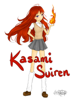 Kasami Lets Play With Fire by Eeveelutions95