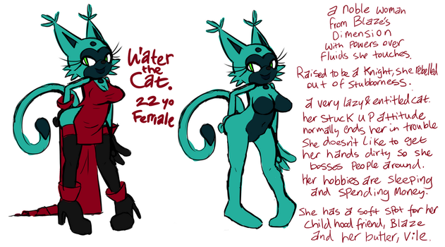 Profile: Water The Cat! by waterthesalt