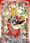Stained Glass: King of Red Lions by Scarlett-Winter