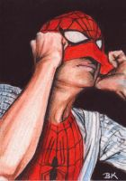 Spider-Man Sketch Card by Ethrendil