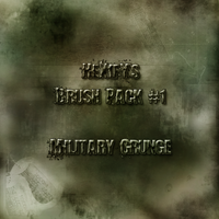 Military Grunge Brushes by HeXifY
