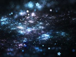 Starry Night Bokeh by KeilaNeokow