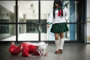inuyasha! Sit-down!! by jaymiecosplay