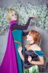 Frozen - Elsa and Anna by KikoLondon