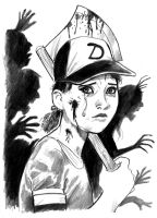 The Walking Dead: Never Alone by cluedog