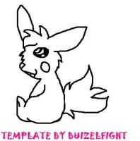Wolfchus Template by buizelfight