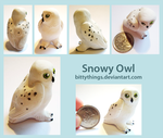 Snowy Owl - GIFT by Bittythings