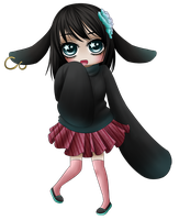 Commission - Chibi Rin by MadameNyx