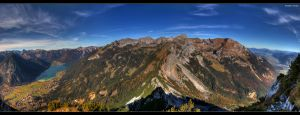 Mountains and a Lake by stetre76