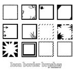 Icon Border Brushes by AlenaJay