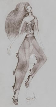 Fashion Sketch 04 by my-beret-is-red