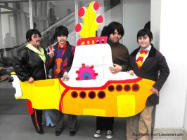 The Beatles Cosplay by SuperSonicHero10