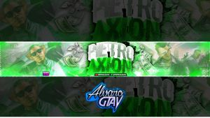 Pietro Axion Banner by AlvaroGtaV