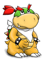 Baby Bowser by Boshy00